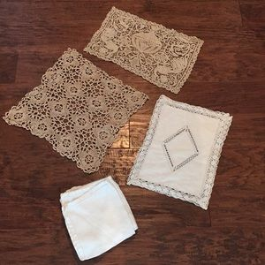 Other - Set of 8 pieces of vintage linens.